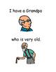 My Grandpa went to heaven (social story)
