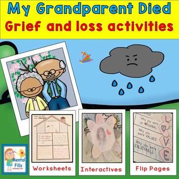 My Grandparent Died: Interactive Activities & Worksheets t