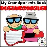 Grandparents Day Craft | 100th Day of School Craft | My Grandparents Rock Craft