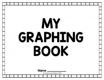 Bar Graphs Pictographs Line Plots My Graphing Book