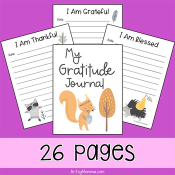 My Gratitude Journal for Kids