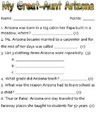 My Great Aunt Arizona Exit Ticket