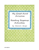My Great-Aunt Arizona Reading Response Activities