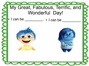 My Great, Fabulous, Terrific, Wonderful Day!