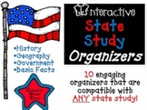 My Great State: Interactive Social Studies Organizers