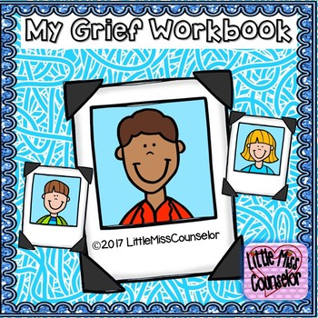 My Grief Workbook for Grief is Like Spaghetti & Meatballs