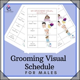 My Grooming Visual Schedule - For Males