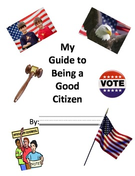 My Guide to Being a Good Citizen Booklet