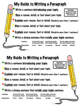 My Guide to Writing a Paragraph