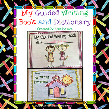 My Guided Writing Book and Dictionary