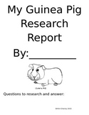 My Guinea Pig Research Report