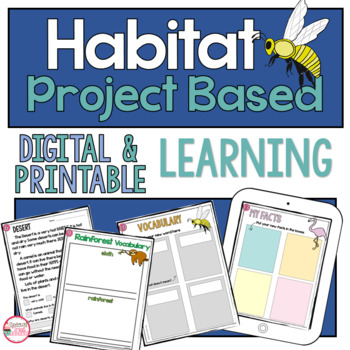 Project Based Learning for 2nd Grade : Habitat and Ecosystems NGSS 2-LS4-1