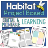 NGSS 2-LS4-1 Second Grade My Habitat Foldable PBL