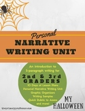 My Halloween: A Personal Narrative Writing Unit for 2nd & 3rd Graders