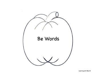 My Halloween Be word contractions