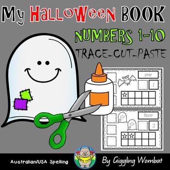 My Halloween Book Numbers 1-10