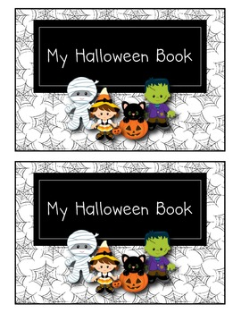My Halloween Book emergent reader