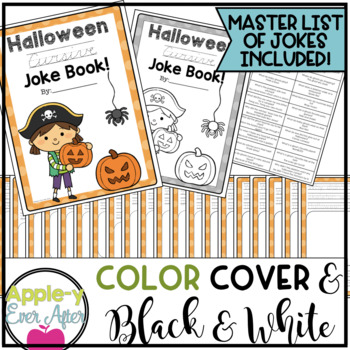 My Halloween CURSIVE Practice Joke Book!