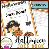 My Halloween CURSIVE Practice Joke Book!