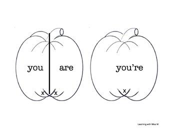 My Halloween Contractions