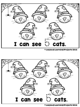 My Halloween Counting Book  (A Sight Word Emergent Reader and Teacher Lap Book)