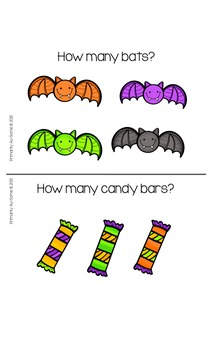 My Halloween Counting Book & Activity