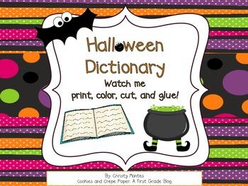 My Halloween Dictionary