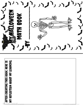 My Halloween Math Book (using Cotton Swabs)