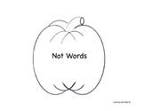 My Halloween Not Contractions