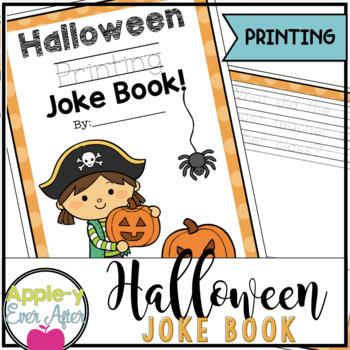 Halloween Printing Practice Joke Book!