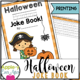 Halloween Printing Joke Book!