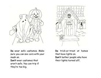 My Halloween Safety Book