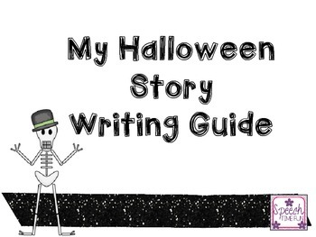 My Halloween Story - Writing Guide