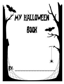 My Halloween Writing Book