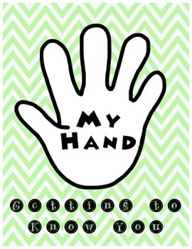 My Hand - Getting to Know You