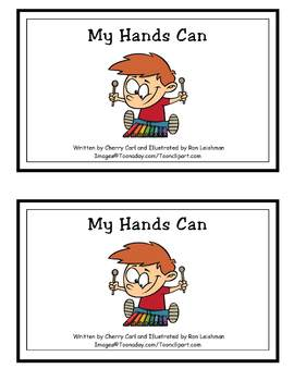 My Hands Can: Word Family Guided Reader for -y