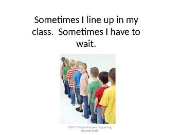 Waiting; Teaching What to do With Hands While Waiting; Expected Behavior