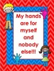 My Hands are for Myself - Poster Set *FREEBIE*