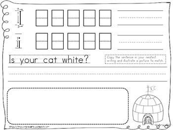 my handwriting book by growing kinders teachers pay teachers. Black Bedroom Furniture Sets. Home Design Ideas