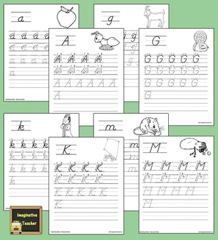 My Handwriting Book - Manuscript Edition