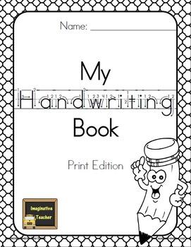 My Handwriting Book - Print Edition