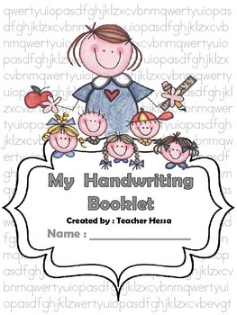 My Handwriting Booklet