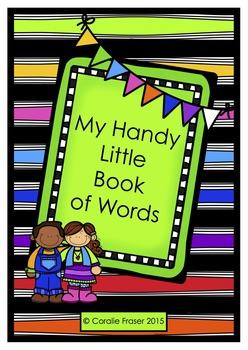 My Handy Little Book of Words