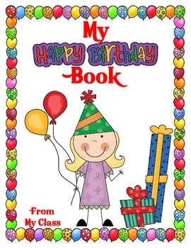 My Happy Birthday Book  A Birthday Book for the Birthday Child