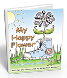 My Happy Flower Story and Activity Book