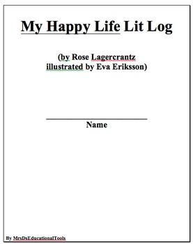 My Happy Life Lit Log