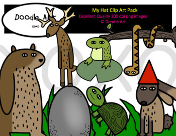 My Hat Clip Art Pack
