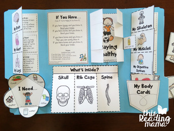 My Healthy Body Unit Study {for K-2 Learners}