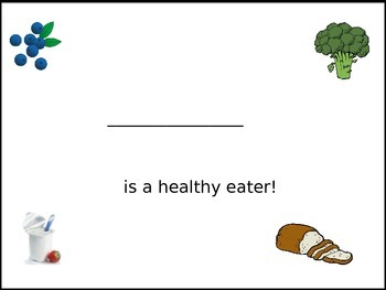 My Healthy Eating Book