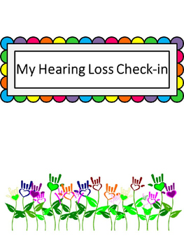 My Hearing Loss Check-in